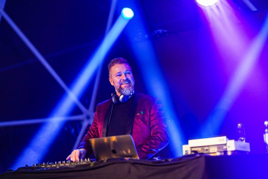 Aspria-Silvesterparty, Hannover, 2020, DJ Rob Hardt