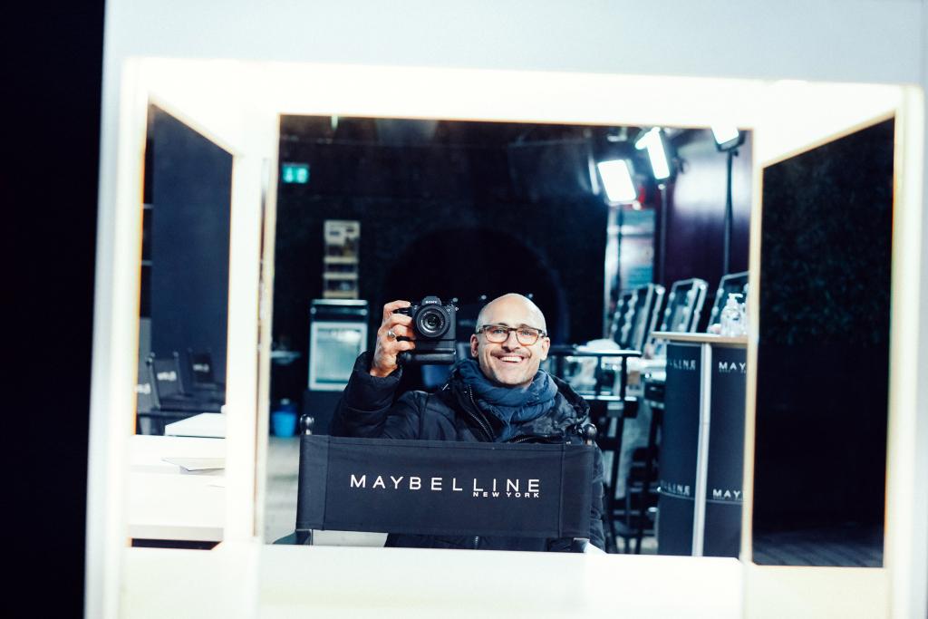 Selbstportrait, Jan Dommel, Berlin, Maybelline New York