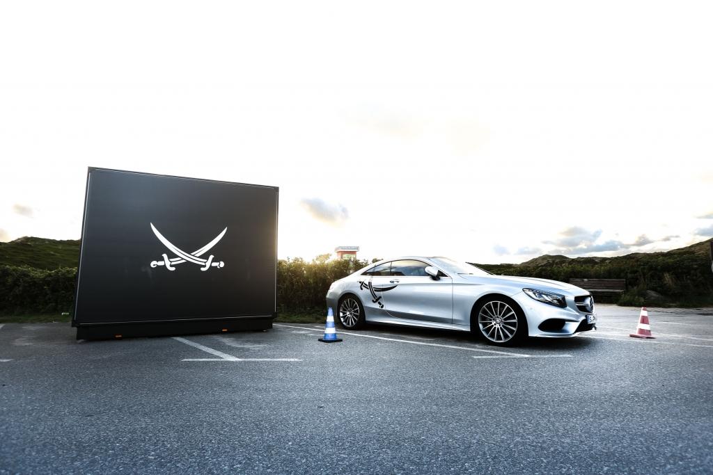 Mercedes-Benz, Sylt, 2015, Driving Events